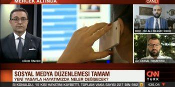 Sosyal Medya Düzenlemesi CNNTurk Canlı Yayını